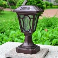 Outdoor lawn lamp landscape light american waterproof single head street lamp tall column fashion Villa landscape lighting