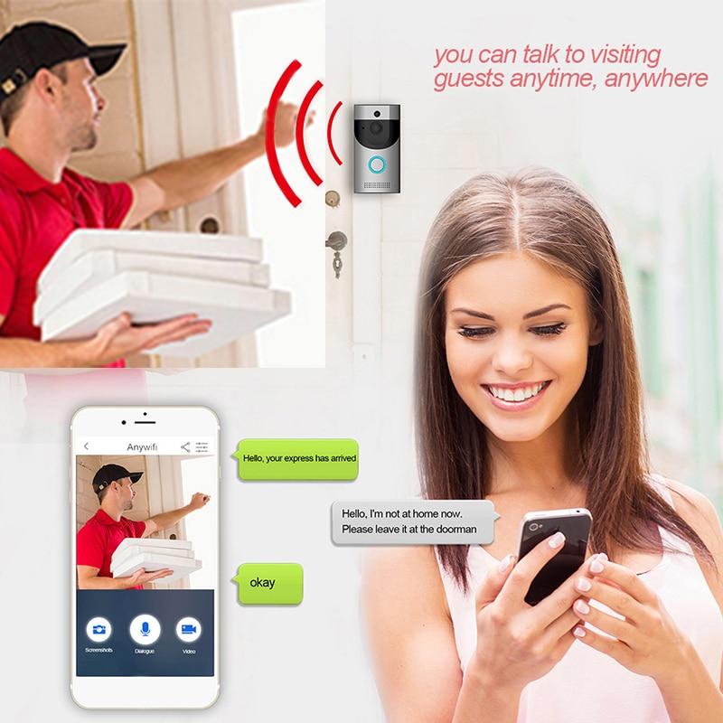 B30 Wireless WiFi Intercom Video Doorbell B10 Doorbell Receiver Night Vision Home Security Camera Monitor Smart