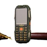 TKEXUN Q8S Rugged Phone Flashlight Shockproof Dual SIM Big voice FM Power Bank Phone