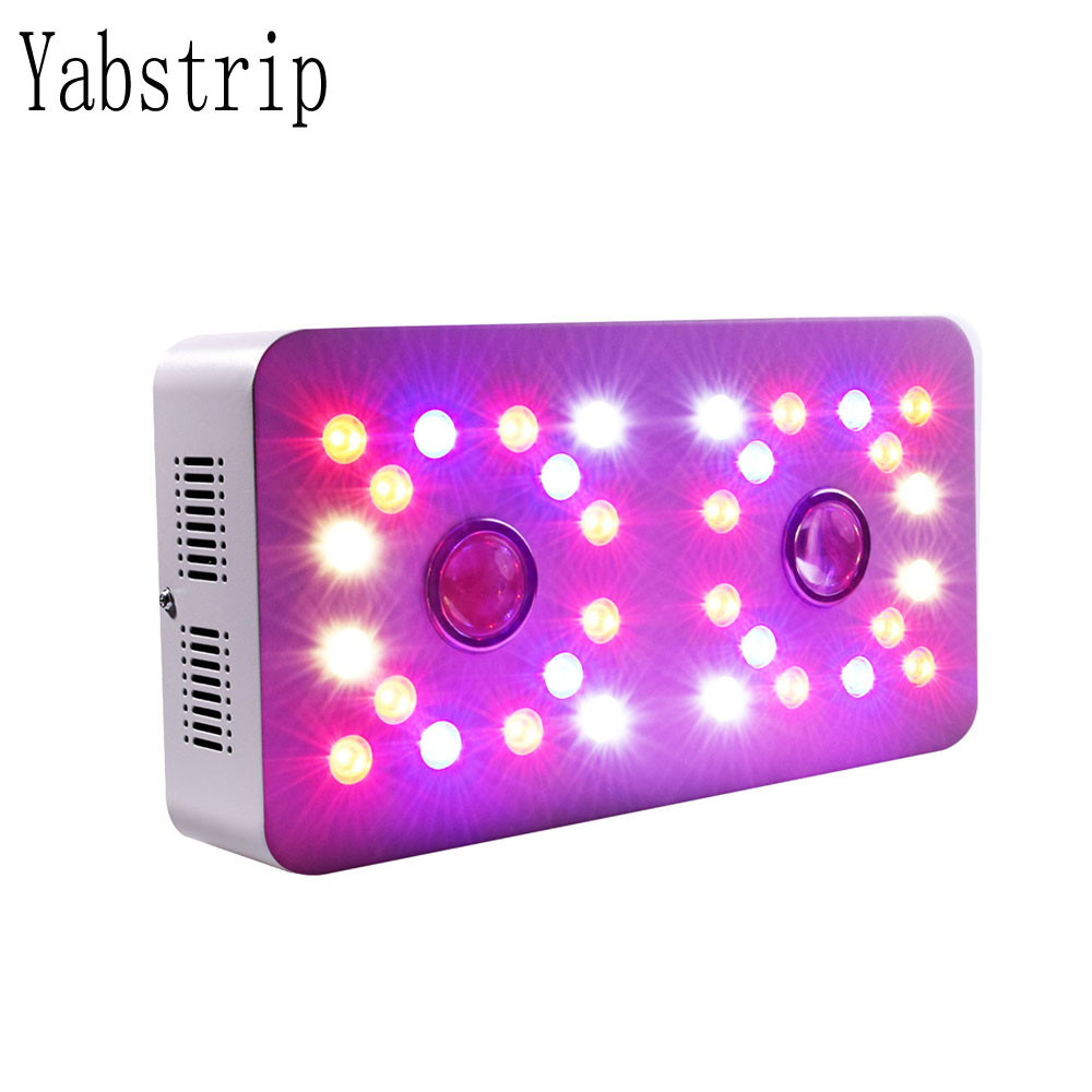 LED Grow Light Full Spectrum 1000W Double Switch Dimmable sunlight COB and Double Chips phyto lamp For Indoor Plants Flower