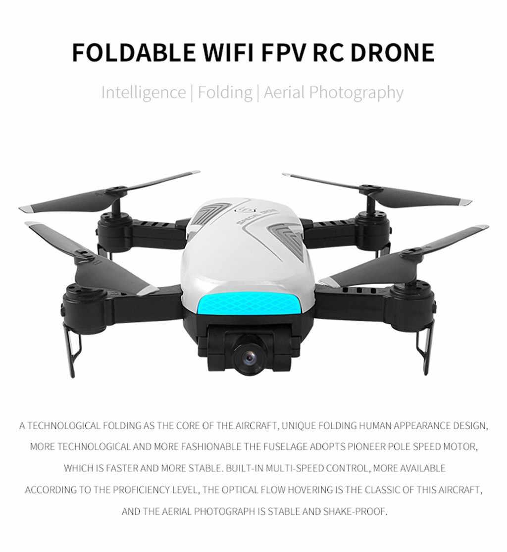Drones Com Câmera HD 2.4 Ghz 4CH Atitude de Espera WiFi 720 P Óptico Fluxo Dual Câmera RC Quadcopter Voando Assecla zangão Profissional