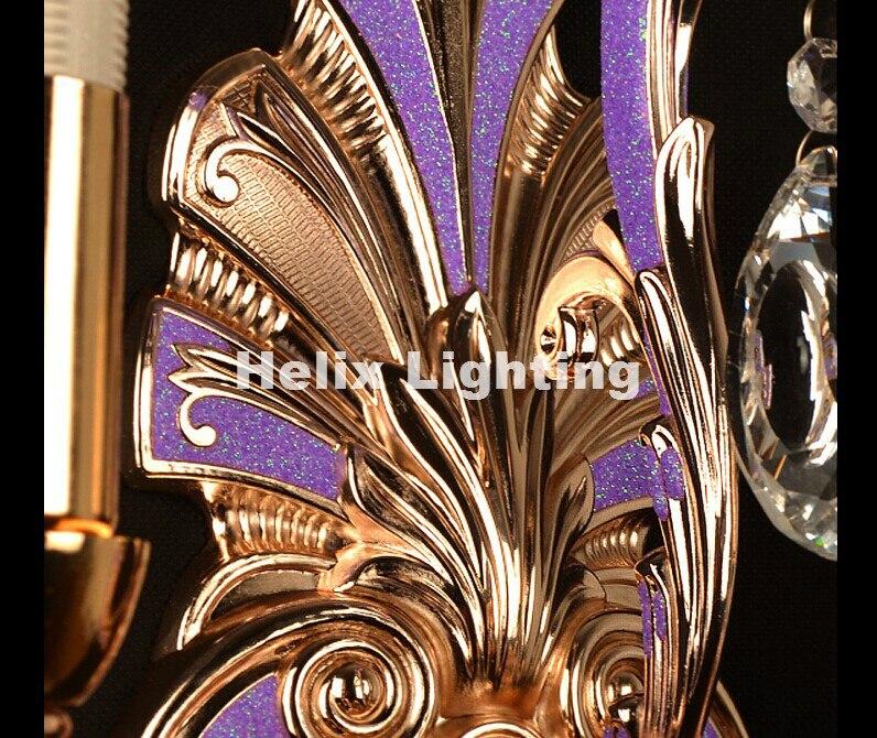 Lâmpadas de Parede e14 levou ac lâmpada de Material : Cristal