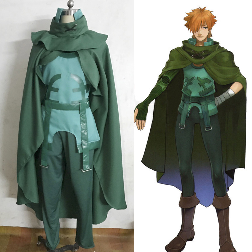 Fate EXTRA Archer Robin Hood Full Sets Cosplay Costumes Halloween Cosplay Costume robin hood bk d