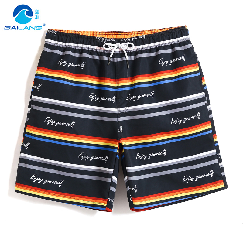 Board     shorts   Men's Swimming trunks camouflage liner quick dry surfing hawaiian bermudas sport de bain homme praia sexy