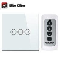 Elite Kilter 1 Gang EU UK Standard Wall Light Touch Dimmer Switch Smart Switch LED Dimmer