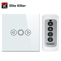 Elite Kilter 1 Gang EU UK Standard Wall Light Touch Dimmer Switch Smart Switch LED Dimmer