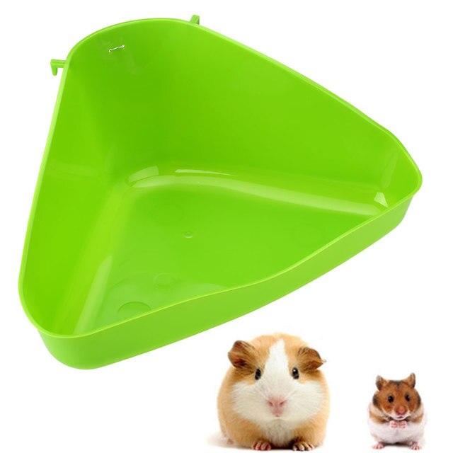 Pet Angolo Toilette Lettiera Vassoio Box Per Il Gatto Del Ratto Del