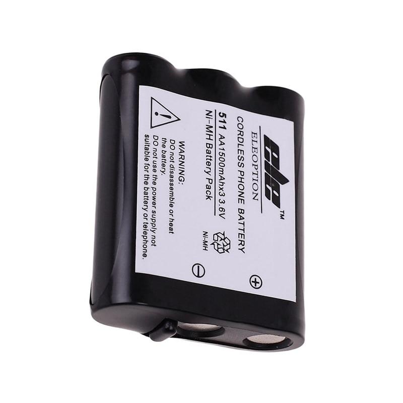 3.6 В 1500 мАч Ni-MH Перезаряжаемые беспроводной домашний телефон Батарея для Panasonic P511 P-P511 pp511 p-p511a er-p511 HHR-P402