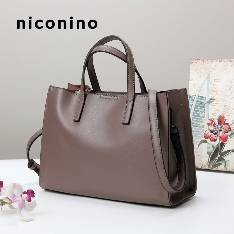 Genuine leather handbags ladies famous brand female crossbody bag tote women messenger bags shoulder bag cow leather bag 2018 цена