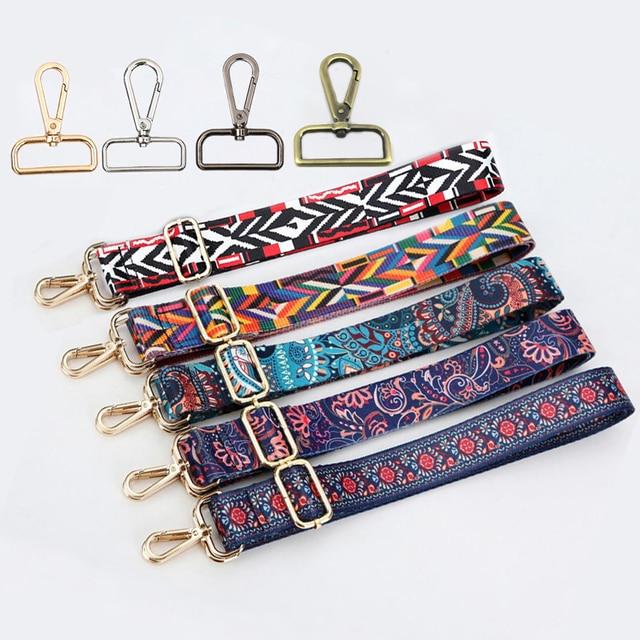 99378bdb2d (4 Metal Colors) 140cm Adjustable Replacement Shoulder Bag Strap DIY 3.8cm Colorful  Straps for Purses Handbags Bags Belts