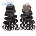 New star волосы горячий продавать топ кружева закрытие девы волос тела волны естественно от черного цвета 10-20 дюймов DHL быстрая доставка в 3-7дней