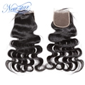 New star hair hot selling top lace closures virgin hair body wave natural off black color 10-20inch DHL fast shipping in 3-7days