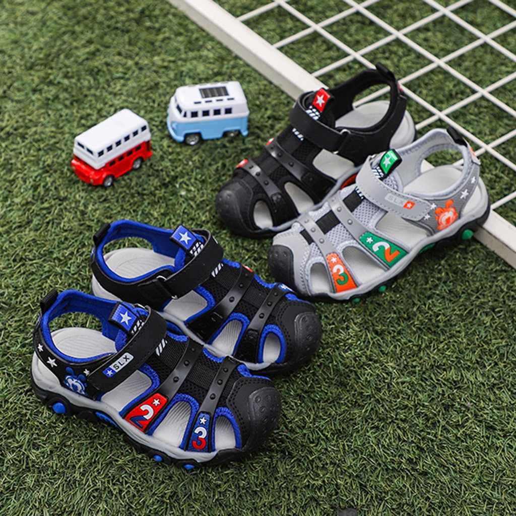 Детские сандалии; летние детские пляжные сандалии для маленьких девочек и мальчиков с рисунком звезды; обувь для девочек; спортивные кроссовки; обувь для мальчиков