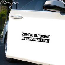 Zombie Outbreak Response Unit Funny Car Window Decal Bumper Sticker JDM D178 outbreak