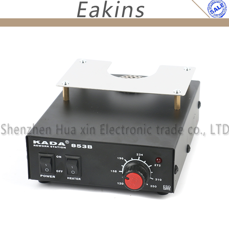 KADA 853B BGA Preheating Station BGA Rework Station Soldering Station Electric Soldering Iron For PCB Preheat and Desoldering [haotian vegetarian] antique copper box face page box buckle chinese decoration accessories htn 023