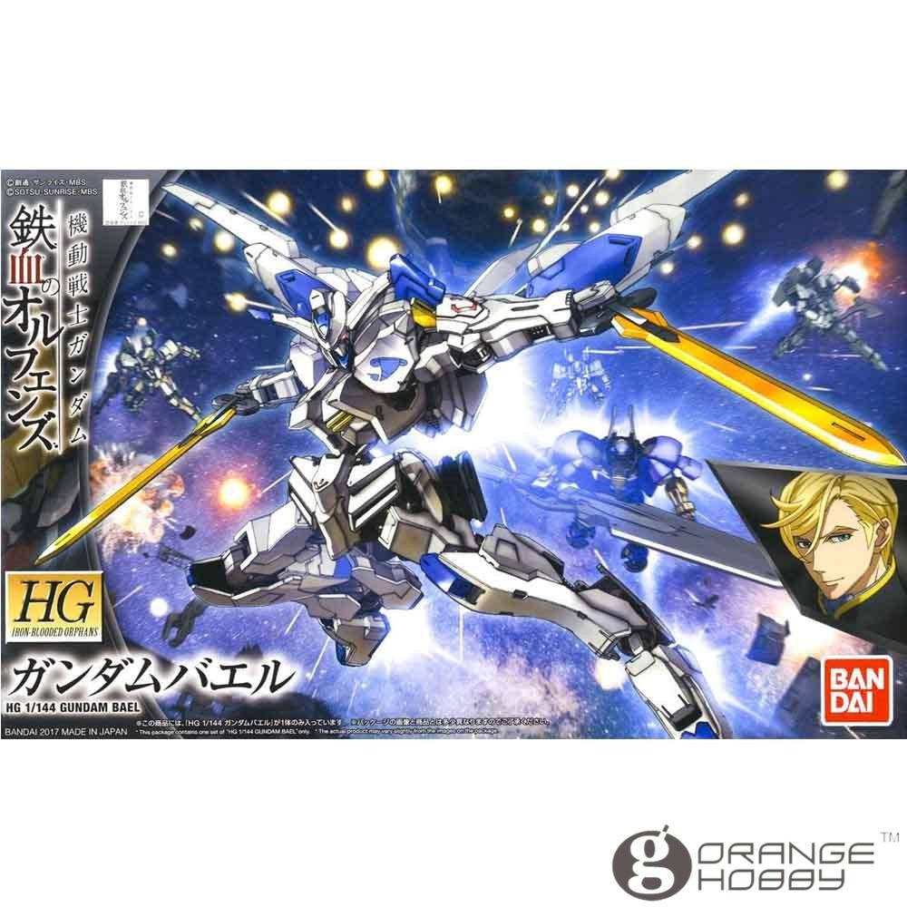 OHS Bandai HG Iron-Blooded Orphans 036 1/144 Gundam Bael Mobile Suit Assembly plastic Model Kits oh ohs bandai sd bb 385 q ver knight unicorn gundam mobile suit assembly model kits oh