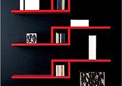 FULL Post Free L- TV backdrop decorative frame kitchen shelf bookcase CD tray