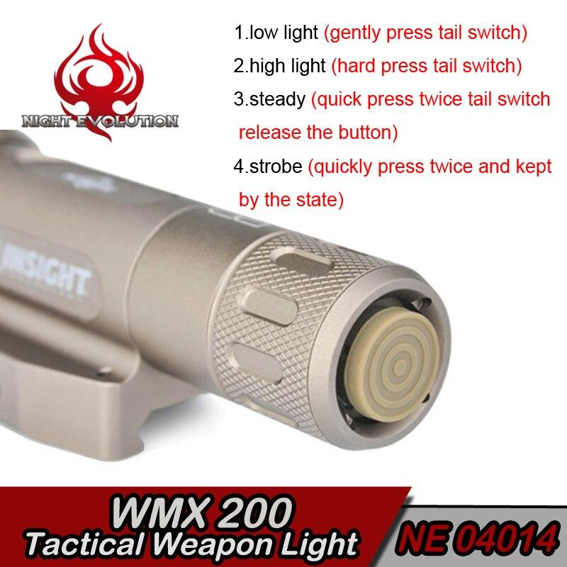 EX418 Στοιχείο Airsoft LED φως Το τακτικό κιτ - Κυνήγι - Φωτογραφία 6