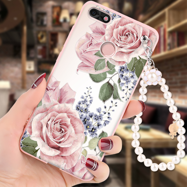 coque huawei y6 pro 2017 silicone fille