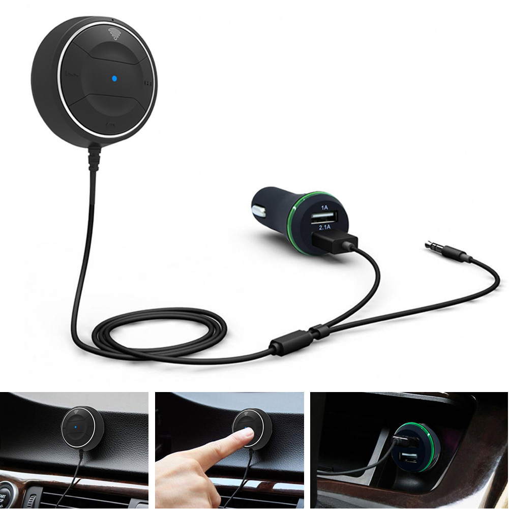 Kextech Car Bluetooth Music Receiver With Hands Free Function