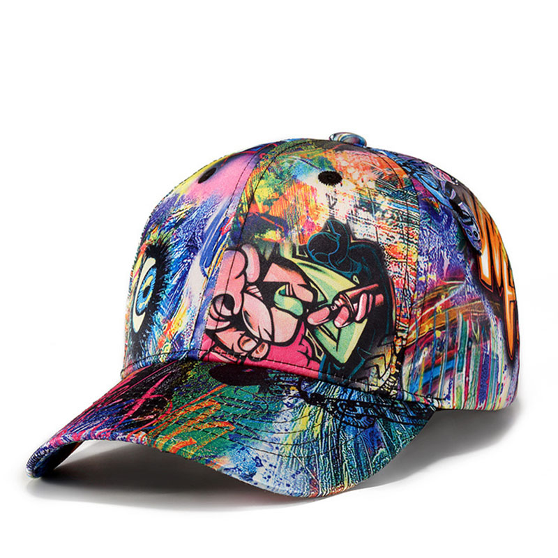 Man   Baseball     Cap   Graffiti Embroidery Hip Hop Unisex Snapback Teenage Outdoor Dance Hat Adjustable Sport   Caps   Casquette CP0337