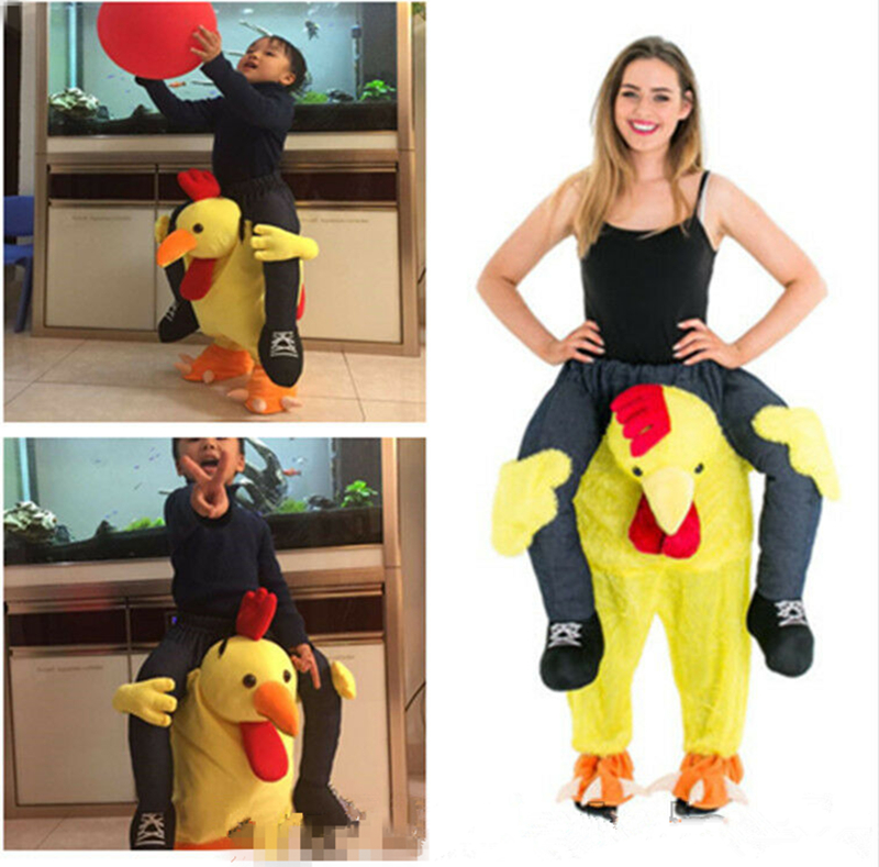 Dinosaur Mascot Costume Halloween Xmas Birthday Party Dress Adult Cosplay Parade