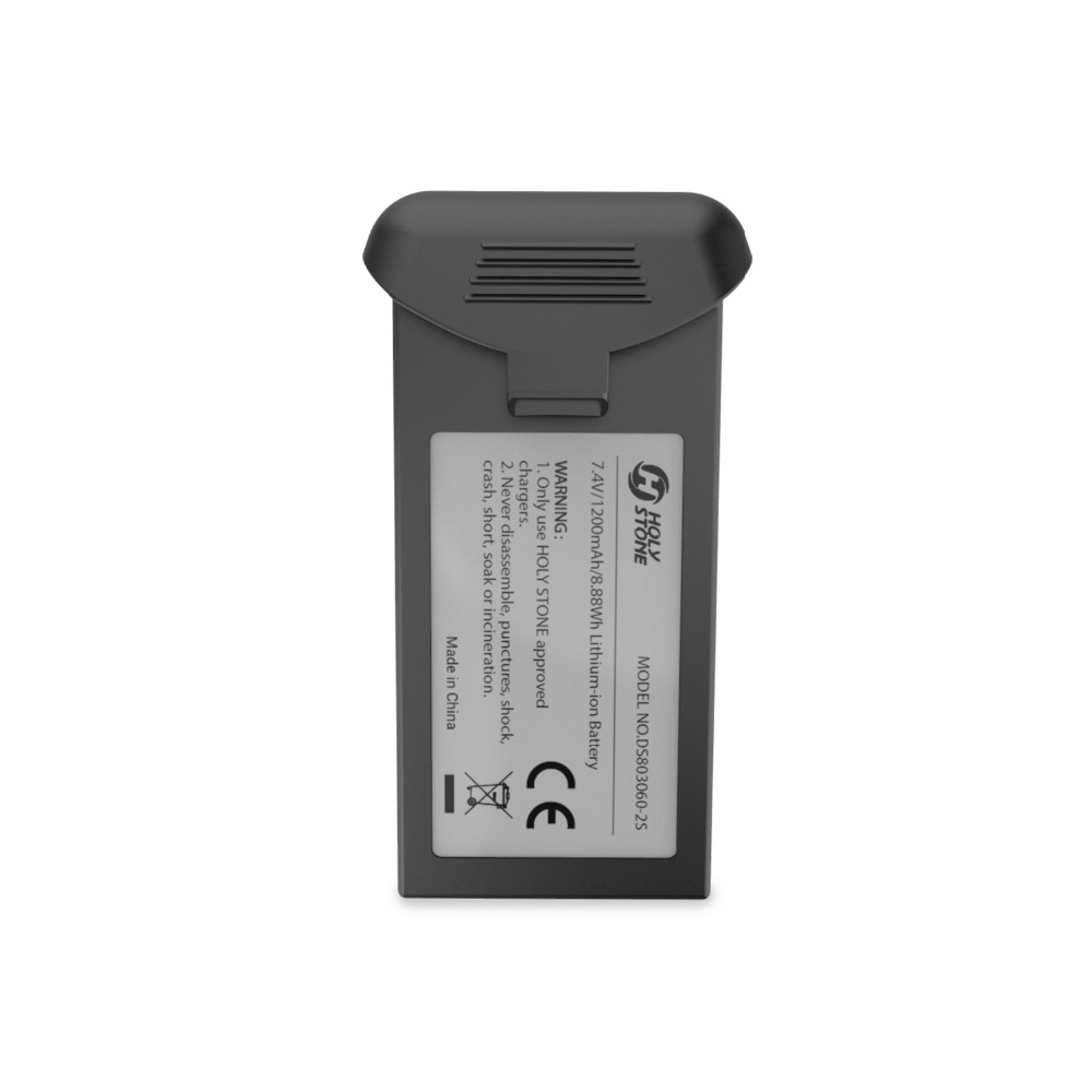 [EU USA Stock] Holy Stone HS120D Rechargable Li-po Battery 7.4V 1200mAh or Battery Set with Charger for Drone HS120D[EU USA Stock] Holy Stone HS120D Rechargable Li-po Battery 7.4V 1200mAh or Battery Set with Charger for Drone HS120D