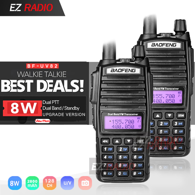 Cellphones & Telecommunications 2pcs/lot Upgrade Uv-82 Baofeng 8w Ham Radio 10 Km Baofeng Uv 82 High 8w Walkie Talkie 10 Km Baofeng Uv82 Hot Baofeng Uv-9r Uv 9r
