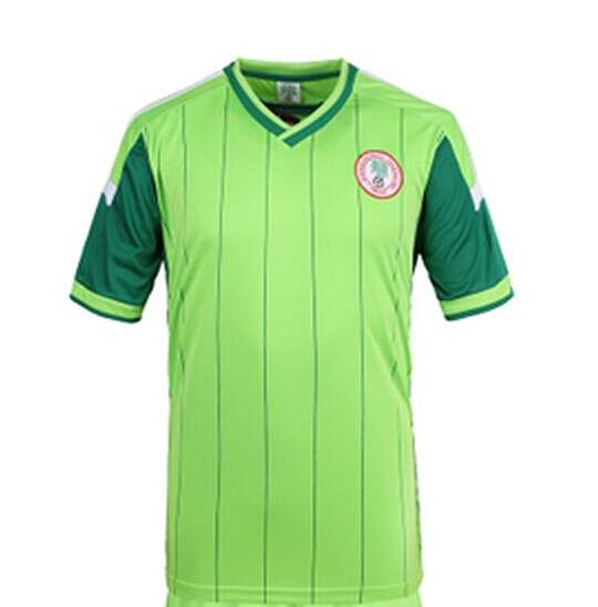 on sale 29ad6 11221 Thailand Quality Nigeria Jersey World Cup 2014 Soccer Jerseys Shirt home  green Football Shirts
