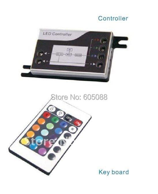 Мода года Дизайн! Мини RGB LED ИК-пульт с беспроводной пульт дистанционного управления, DC12/24 В совместимость, CE& ROHS, 2 года гарантии