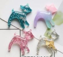 Sika Deer DIY resin materials birthday party supplies cake accessories mobile phone shell decoration hair mater