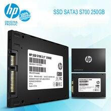 Hp SSD S700 2,5 250GB SATA3 3D NAND Внутренний твердотельный накопитель HDD жесткий диск HD SSD для ноутбуков и настольных компьютеров disco duro ssd
