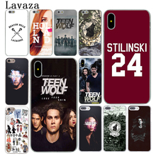 Lavaza Stilinski 24 Teen Wolf fashion Hard Coque Phone Shell Case for Apple iPhone X 8 7 6 6S Plus 5 5S SE 5C 4 4S 10 Cover