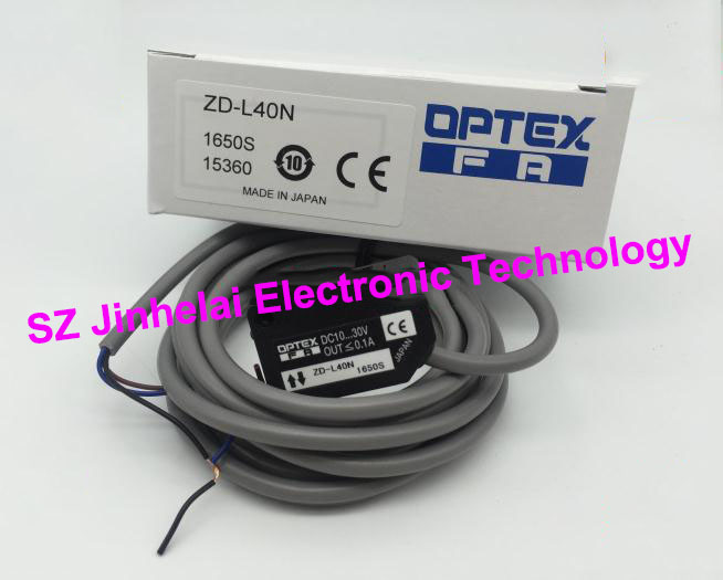 New and original ZD-L40N OPTEX   Laser sensor, Photoelectric switch  NPN output 100% new and original fotek photoelectric switch mr 10x npn
