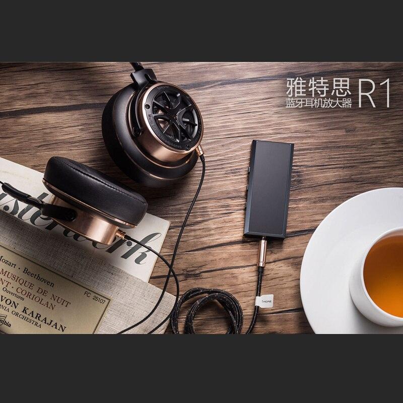 Artextreme Р1 Bluetooth Усилитель Наушников V4.1 портативный 6061 алюминия ЧПУ беспроводной HiFi усилитель с выхода микрофона 180 МВт 70ohm