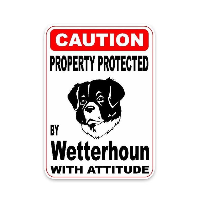 Wetterhoun Dog Decal