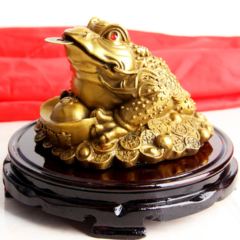 Feng Shui Money Frog /Money Toad Attract Wealth
