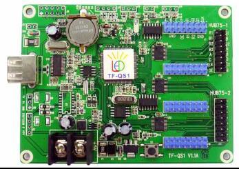 TF-QS1 Longgreat USB LED screen controller 256*32 pixel 2*HUB75+4*HUB08 Full color asynchronous LED control cardTF-QS1 Longgreat USB LED screen controller 256*32 pixel 2*HUB75+4*HUB08 Full color asynchronous LED control card