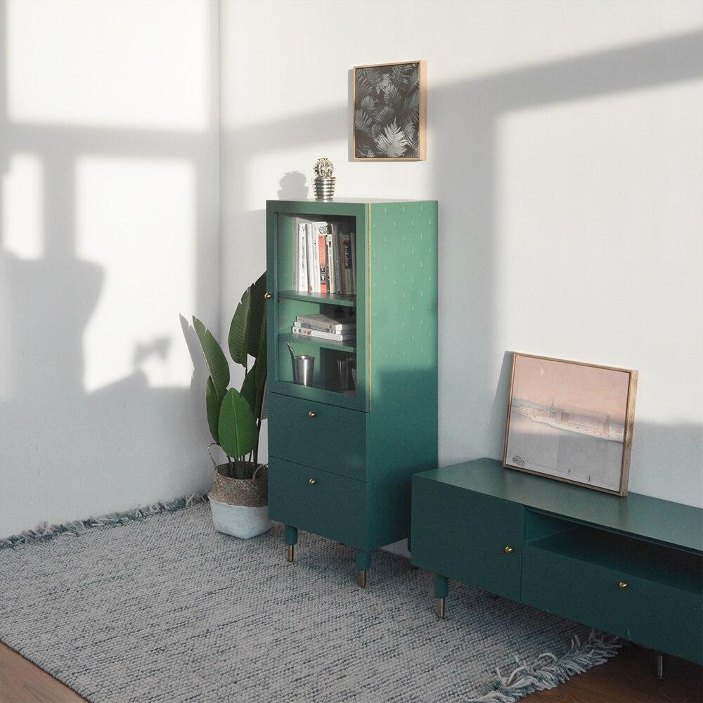 [InYard Original] Ecke Hochschrank/TV Seitenschrank, Glas Lagerung,  Sideboard, Wohnzimmer, Nordic, Einfache, Moderne In [InYard Original] Ecke  ...