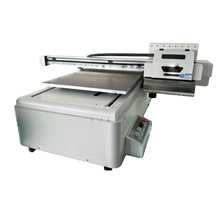 Best Quality High Precision 60*90cm Printing Size Xaar 1201 Print Head Digital Flatbed Uv Led Printer For Sale(China)