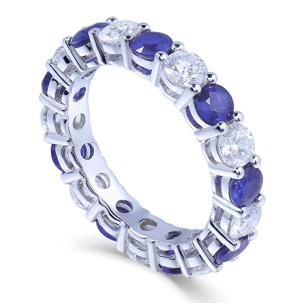 diamond set rosados halo s box rihani fb petite cushion sapphire wedding moissanite bella rosado