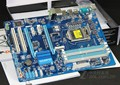 Оригинальный материнская плата DDR3 LGA1155 платы Z77P-D3 32 ГБ Z77 GA-Z77P-D3 материнская плата рабочего