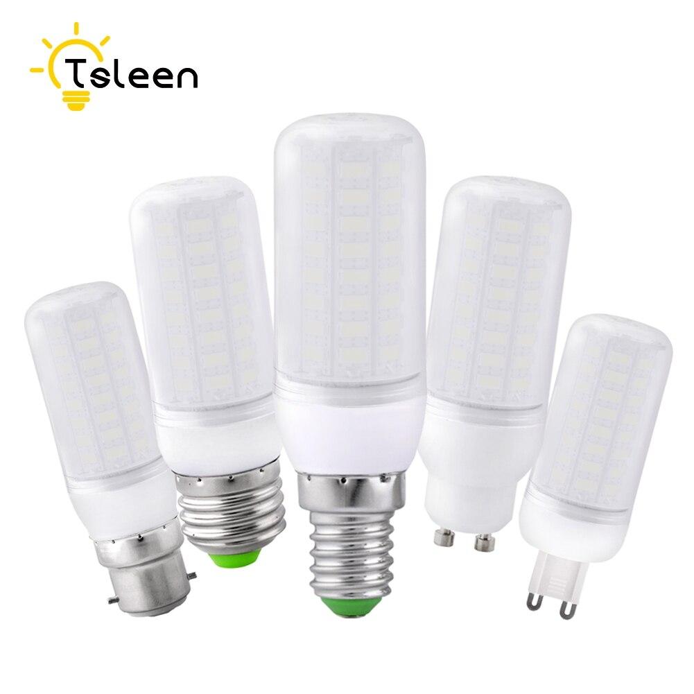 Effective 5730 Chip LED Corn Bulb Lamp E14//E27 Cool Warm Milky White 220V Light