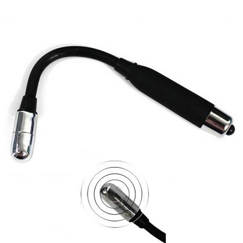 Fexible Elektrische Höhepunkt Tease Stick Anal Perlen Vibrator G-Spot Massage Vagina Stecker Sex Anal Vibrator Butt Plug Prostata massager