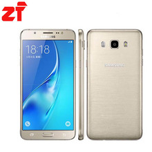 "Original Samsung Galaxy J5 (2016) CELL Phone 16GB ROM 2GB RAM 5.2"" inch Screen Quad Core Snapdragon Dual Sim FDD LTE Smartphone"
