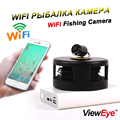 ViewEye Original Wifi Mobile Cell Phone Underwater Visible Video Fishing Camera Fish Finder 2pcs Infrared Lamp With Video Record