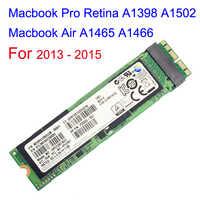 Dysk SSD 128GB 256GB 512GB dla 2013 2014 2015 Macbook Air A1465 A1466 Macbook Pro Retina A1398 A1502 dysk półprzewodnikowy