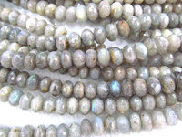 wholesale genuine labradorite beads 6x10mm 2strands 16inch strand ,high quality rondelle abacus faceted blue jewelry beads