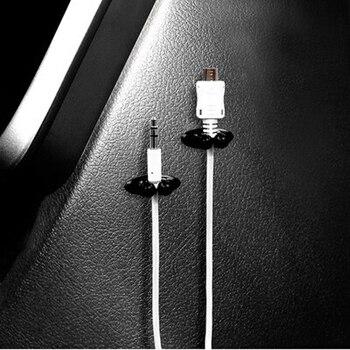 8 шт. автомобильное зарядное устройство зажим для наушников/USB кабель автомобильный зажим для Ssangyong Tivoli XLV Kyron Actyon Korando Rexton Rodius