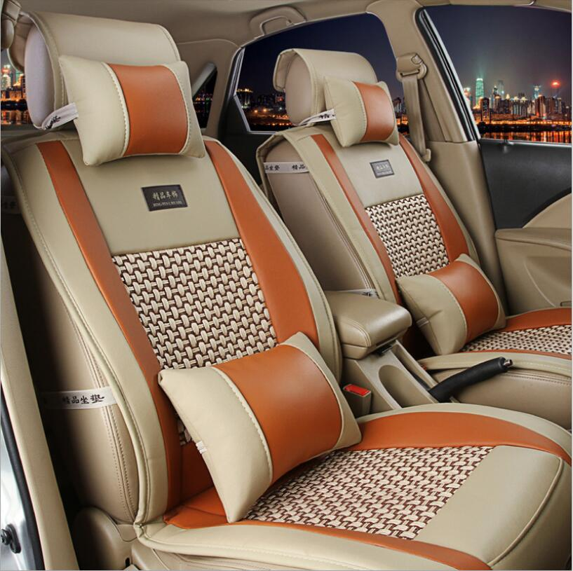 Car-Cushion-Pad Universal-Size Single Cool Summer General Four-Seasons Surrounded Most-Cars